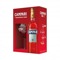 Ликьор Campari Bitter 700ml + чаша