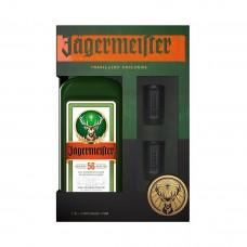 Ликьор Jagermeister 700ml + 2шот чаши