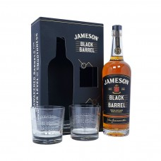 Уиски Jameson Black Barrel 700ml + 2чаши